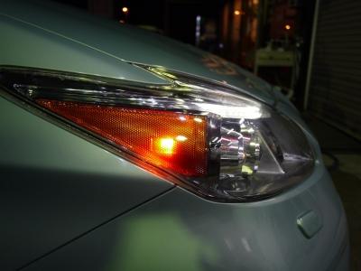 プリウス30後期 LEDヘッドライトUS化