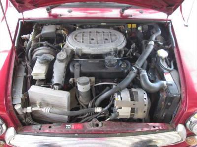 エンジンの調子良いですが、少しオイル滲みがあります。年式なりの部分かと思います。