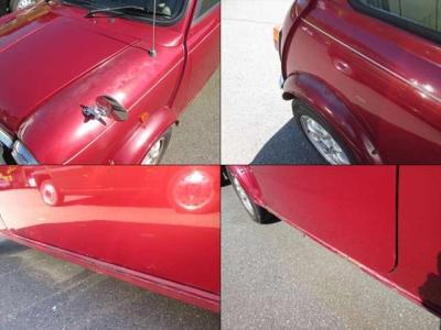 傷とサビの各所です。年式なりの部分もありますので、出来れば現車のご確認をお願い致します。