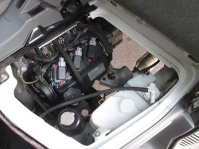 エンジン好調です!エンジンルーム内も綺麗に清掃済みです。