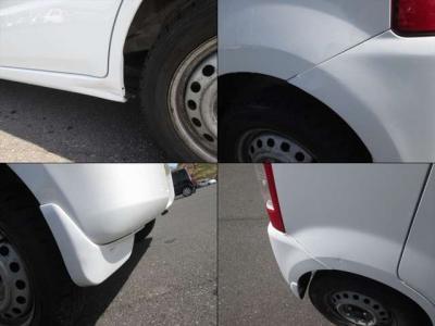 傷の各所です。左リアの凹みは少し目立ちますので、現車のご確認をお願い致します。
