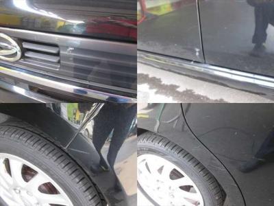 傷の各所です。どれも目立つ物ではありませんが、一応現車のご確認をお勧め致します。
